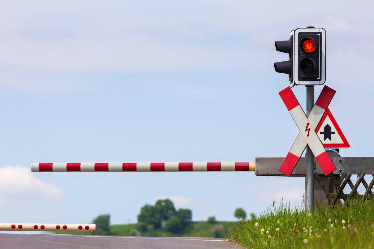Gleisbauarbeiten in Kathen