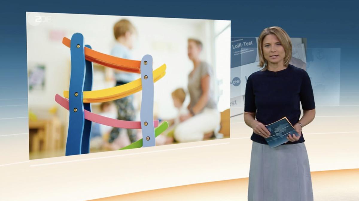 """Kindergarten Purzelbaum in der Sendung """"heute"""" im ZDF"""