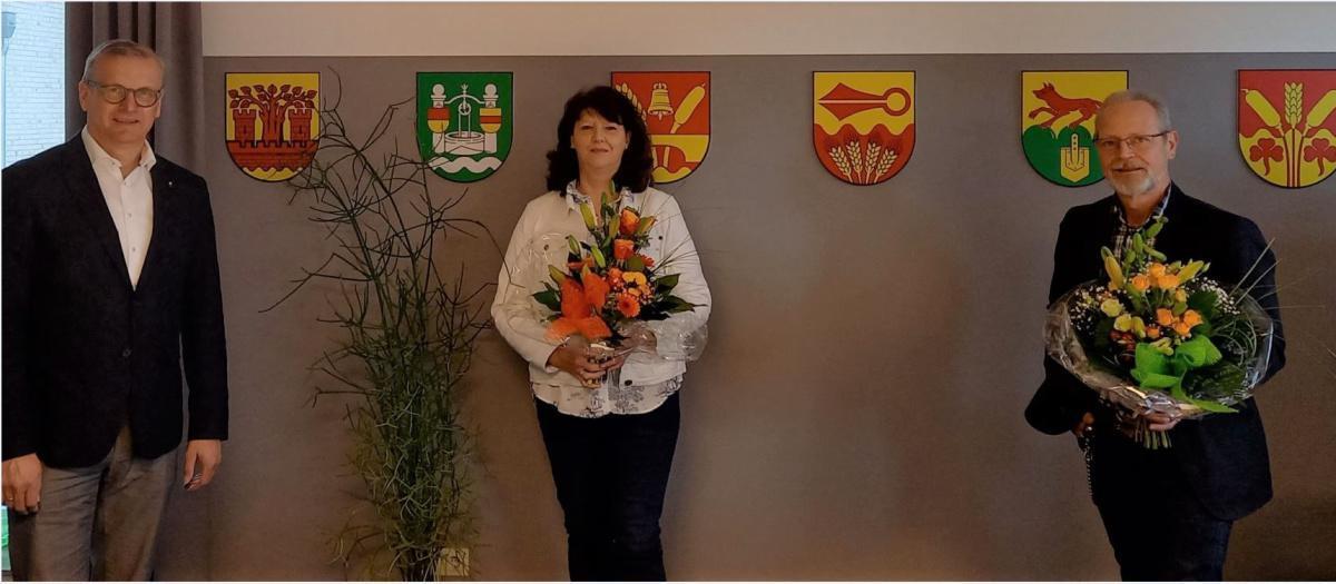 25-jährige Dienstjubiläen bei der Gemeinde Lathen