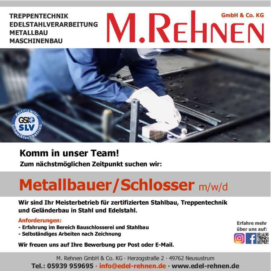 Metallbauer m/w/d