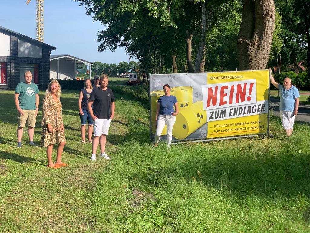 Protest in Renkenberge
