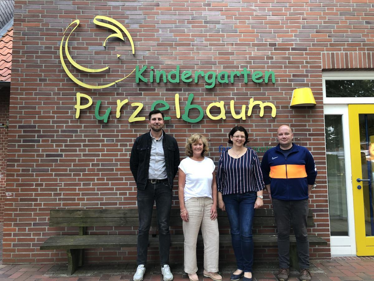 Wechsel im Förderverein Kindergarten Purzelbaum