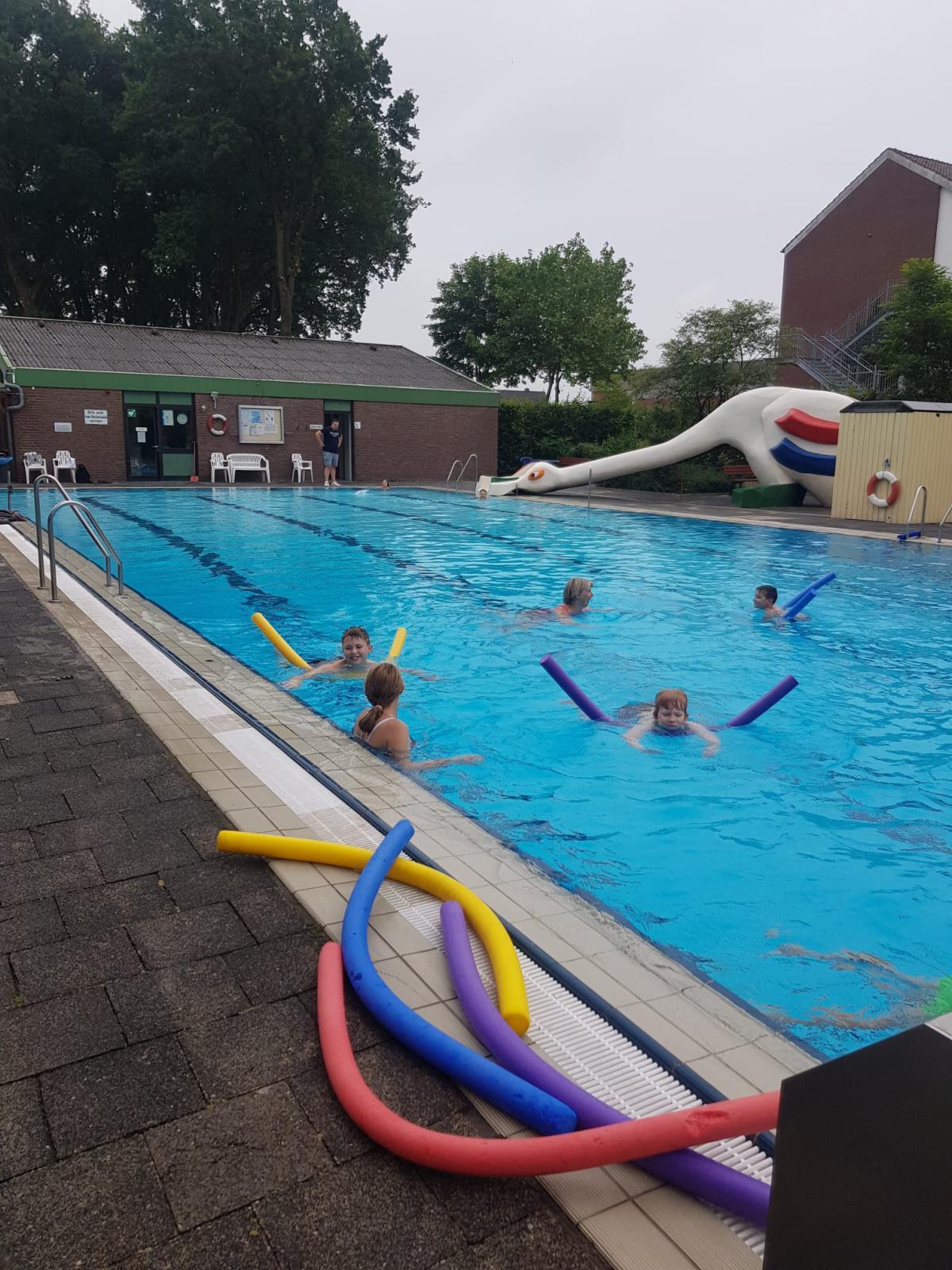 Schwimmkurs an unserer Schule