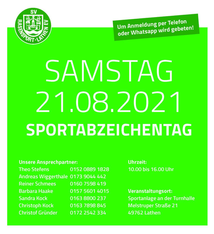Raspo Lathen: Sportabzeichen