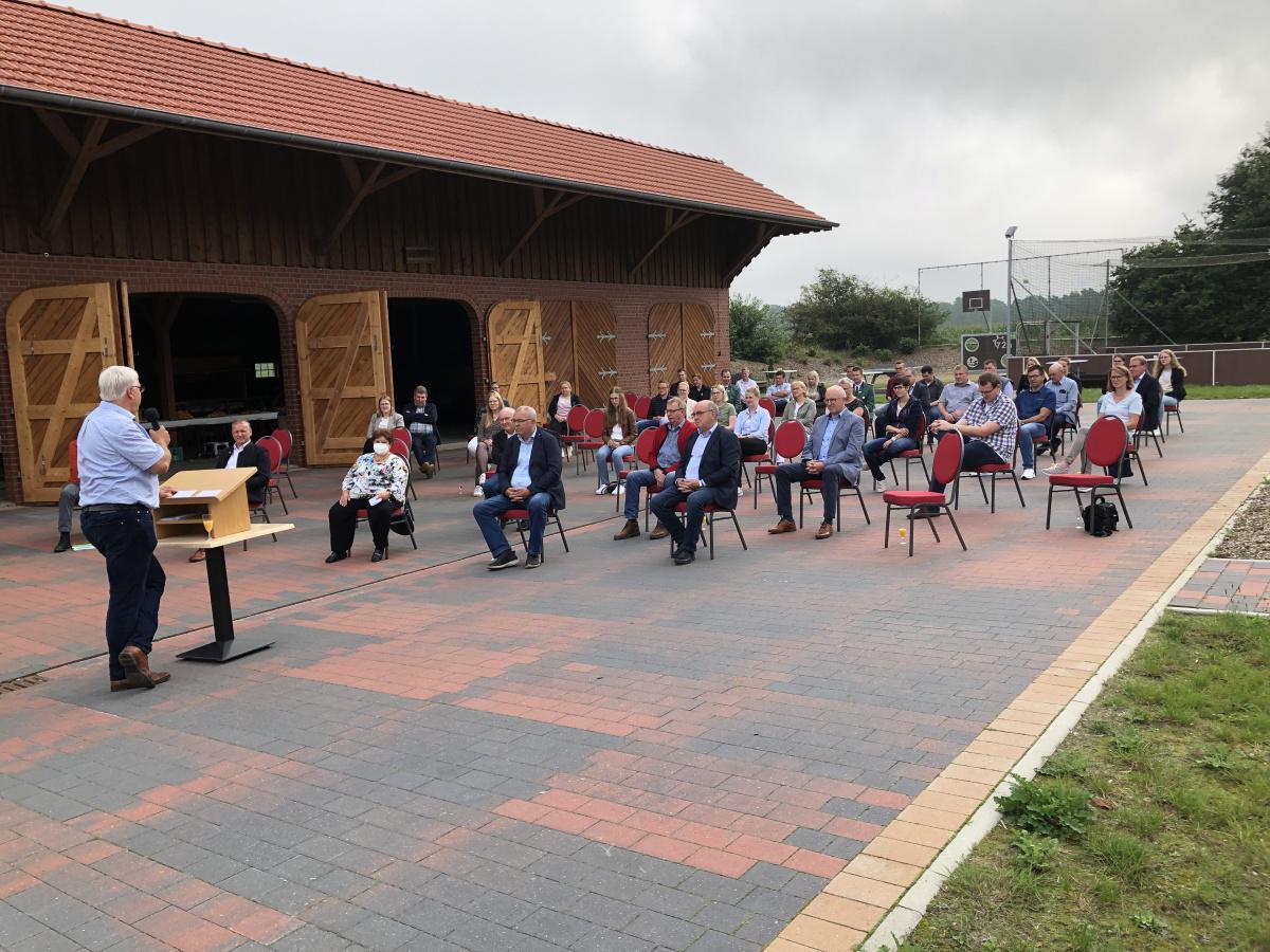 Mehrgenerationenplatz in Sustrum eingeweiht