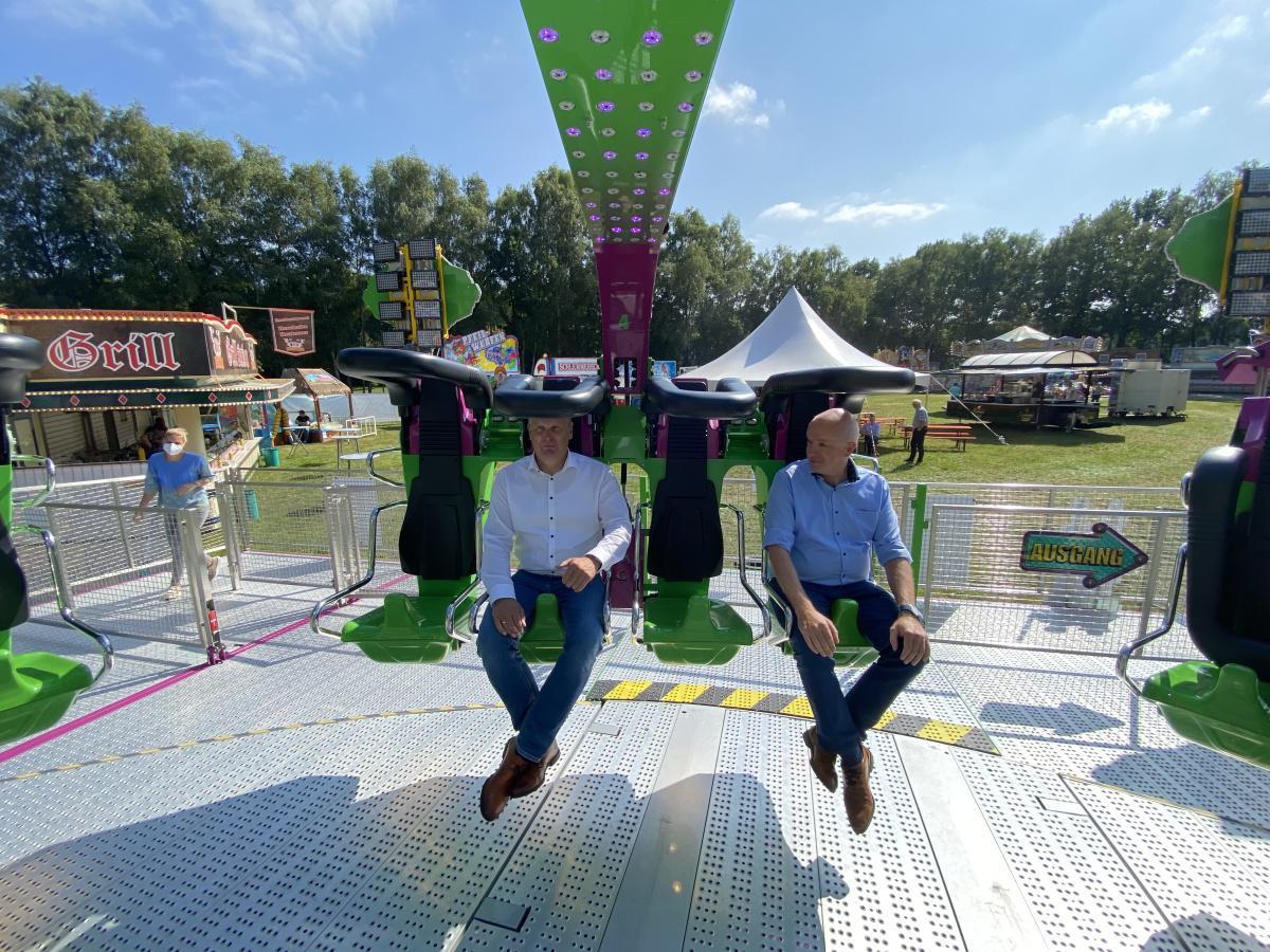 Kirmespark Lathen eröffnet