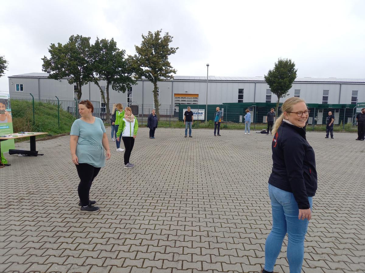 """Kick-off Pilotprojekt """"Gesunde Betriebsnachbarschaft im Industriepark an der A31"""