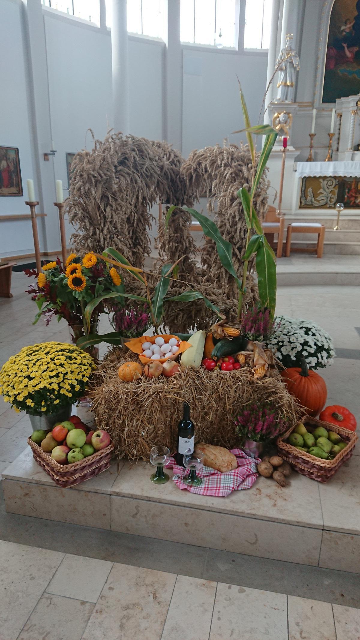 Erntedankfest in Langen