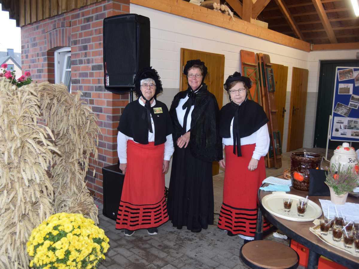 Bildnachlese Erntedankfest in Niederlangen