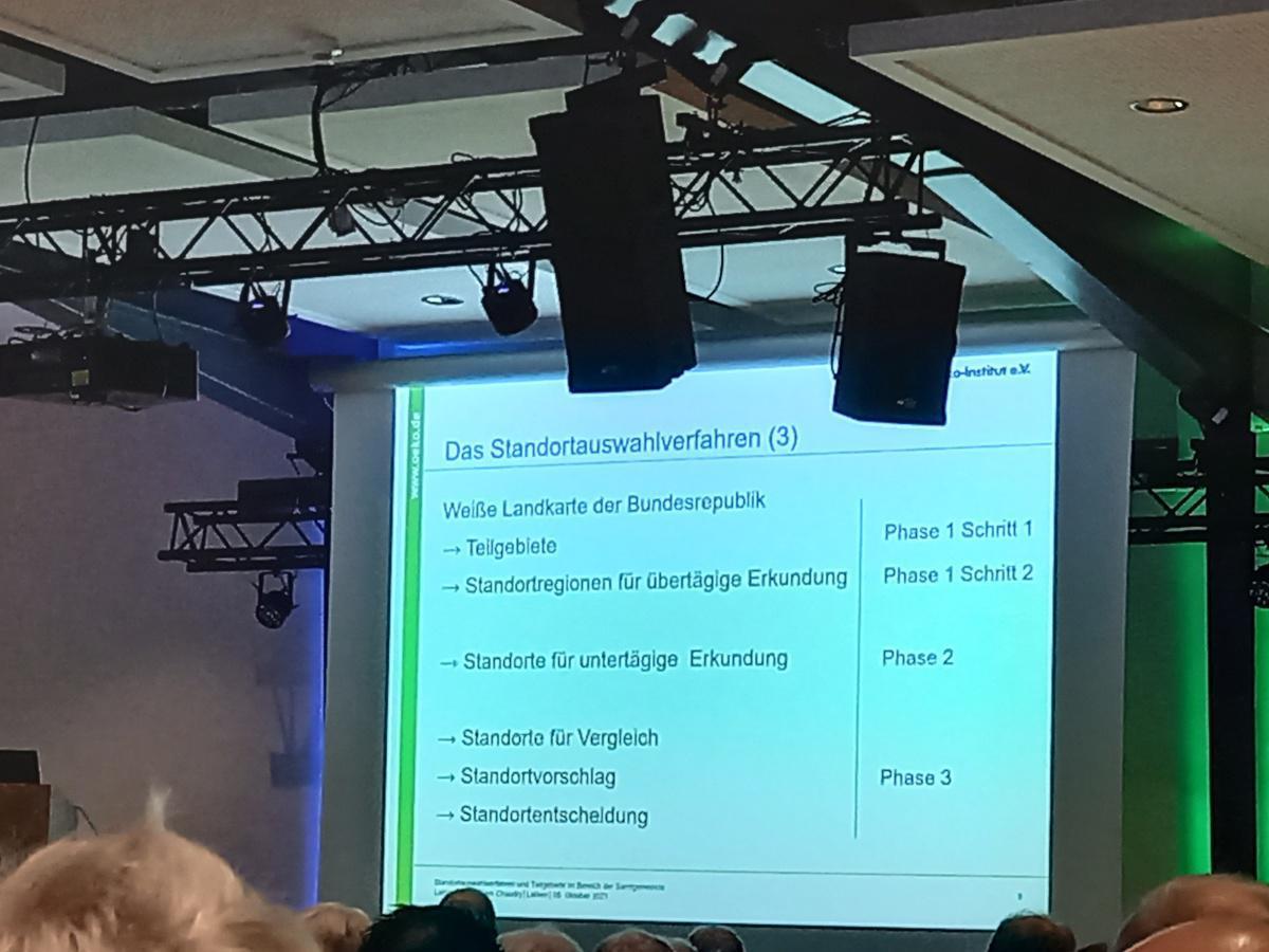 """Großes Interesse am Vortrag zum Thema """"Atommüll-Endlager"""" in Lathen"""