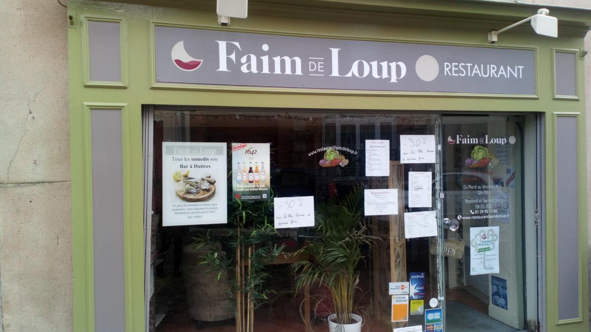 Bienvenue au restaurant Faim de Loup