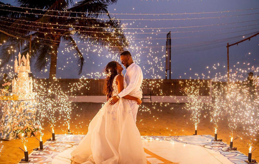 Simi Sends Loving Message To Her Adekunle Gold As They Celebrate Their 1st Wedding Anniversary
