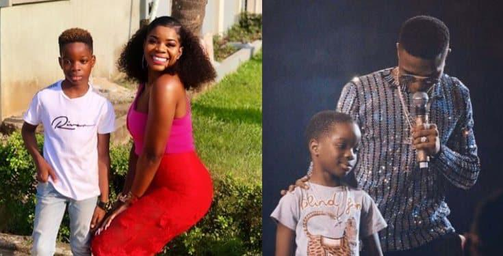 Wizkid's babymama expresses her joy as their son's 9th birthday approaches