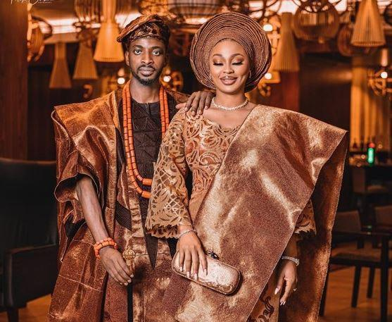 9ice Celebrates 1st Wedding Anniversary With His Wife After Cheating Scandal (Photos)