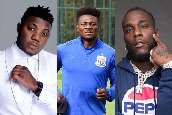 CDQ drags Burna Boy for allegedly disrespecting Obafemi Martins