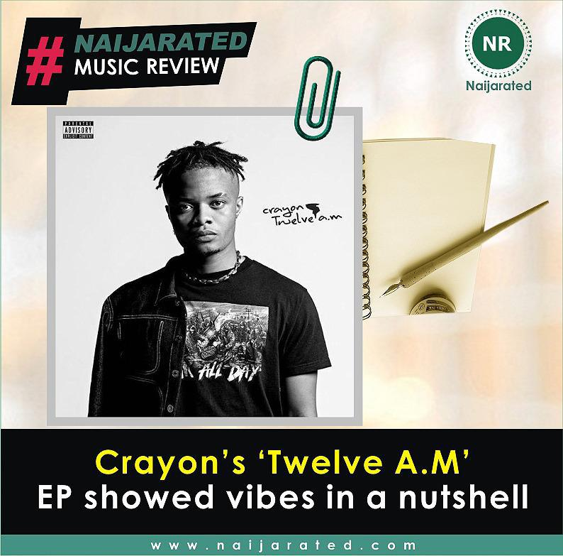 Crayon's 'Twelve A.M' EP showed vibes in a nutshell