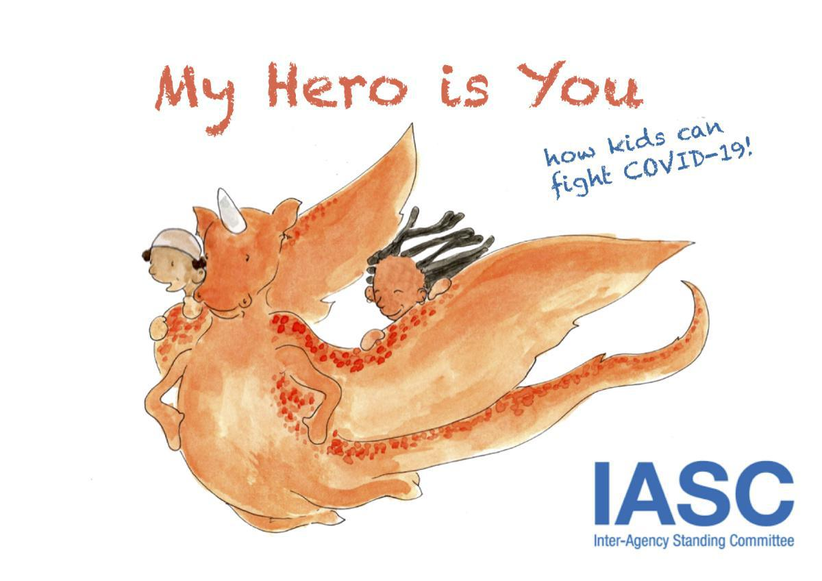 Children's Book Released to Help Children and Young People Cope with COVID-19