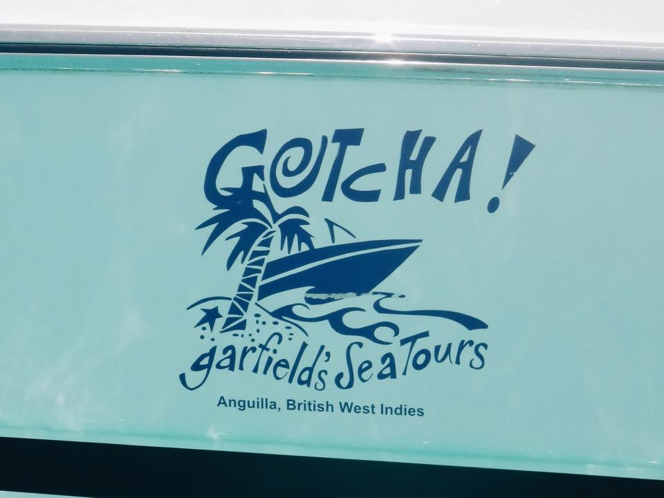 Gotcha! - Garfield's Sea Tours