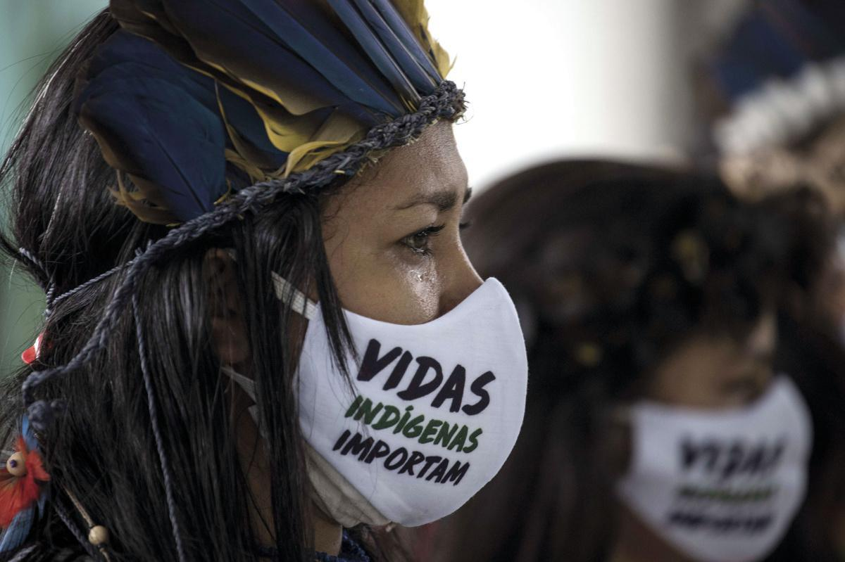 Campanha de solidariedade com etnias indígenas