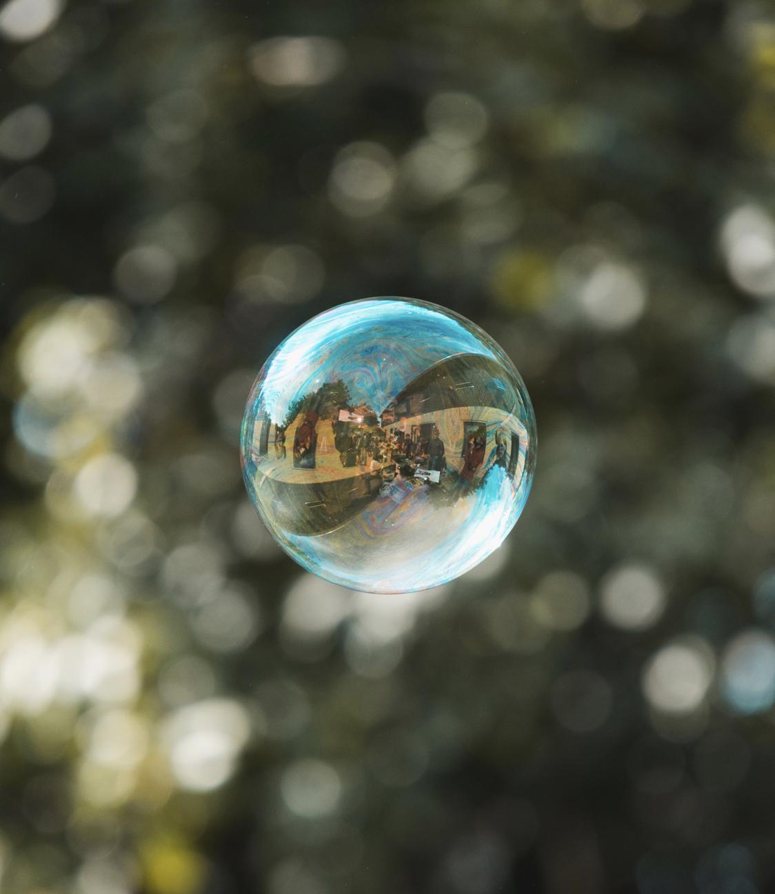 Queres viver numa bolha?