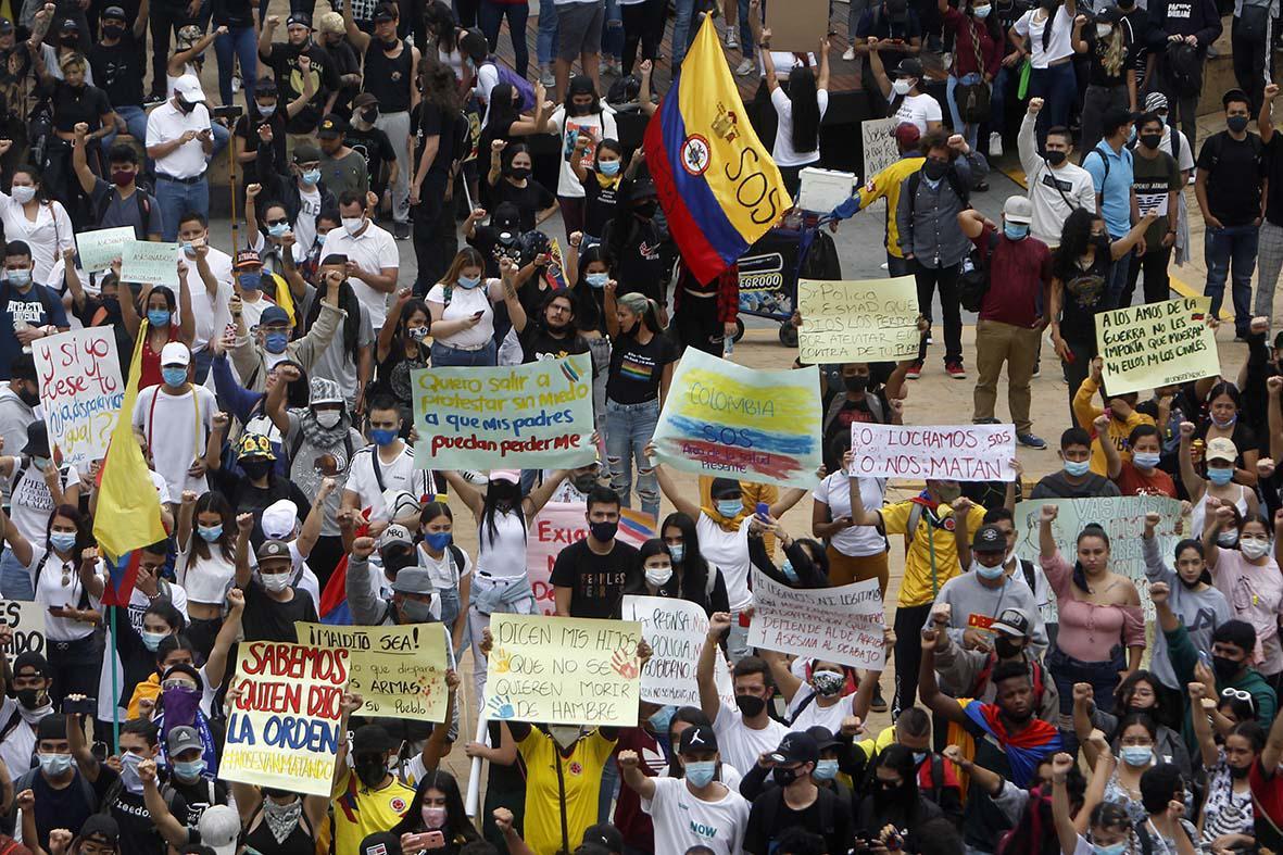 Colômbia: onda de protestos