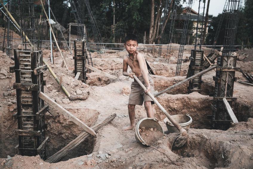 Trabalho infantil aumenta