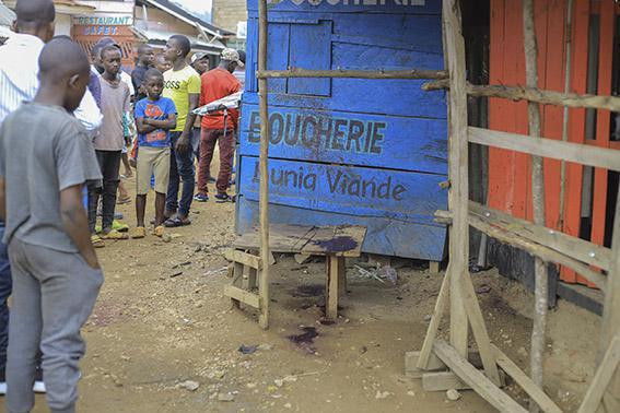 Explosão de bomba no Congo