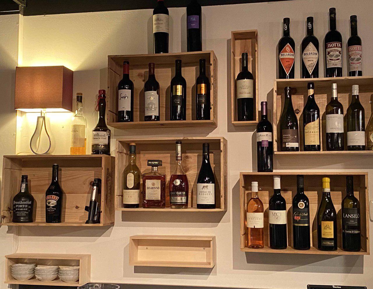 Les vins aux verres