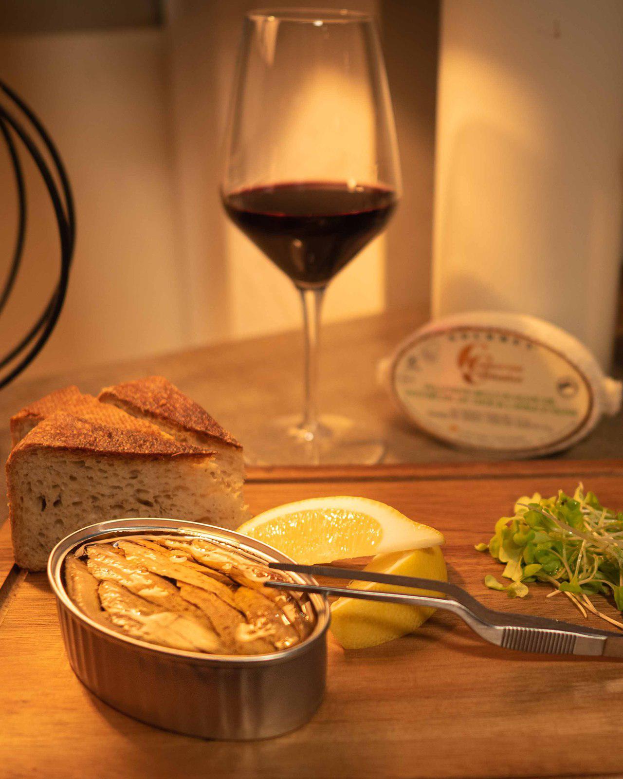 Ventrêche de thon à l'huile d'olive