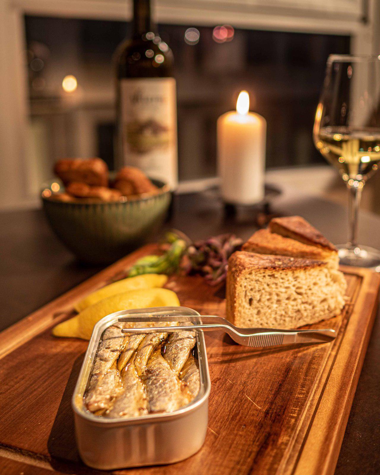 Les Sardines à l'huile d'olive