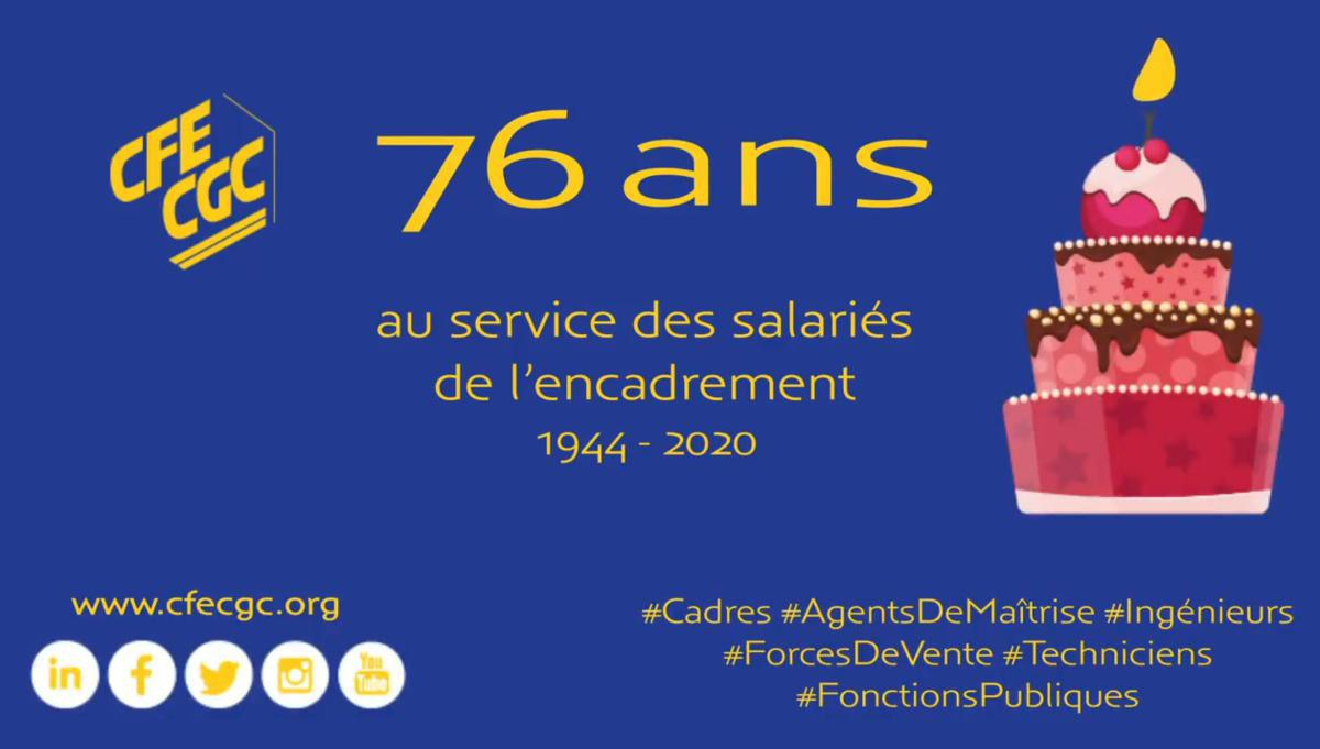 76 ans au service des salariés de l'encadrement