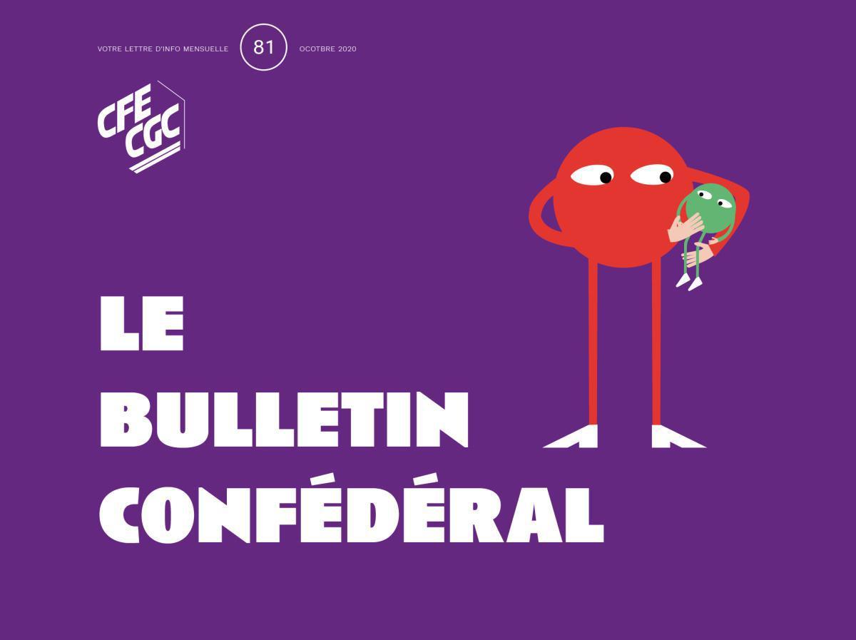 Le Bulletin confédéral n°81 octobre 2020