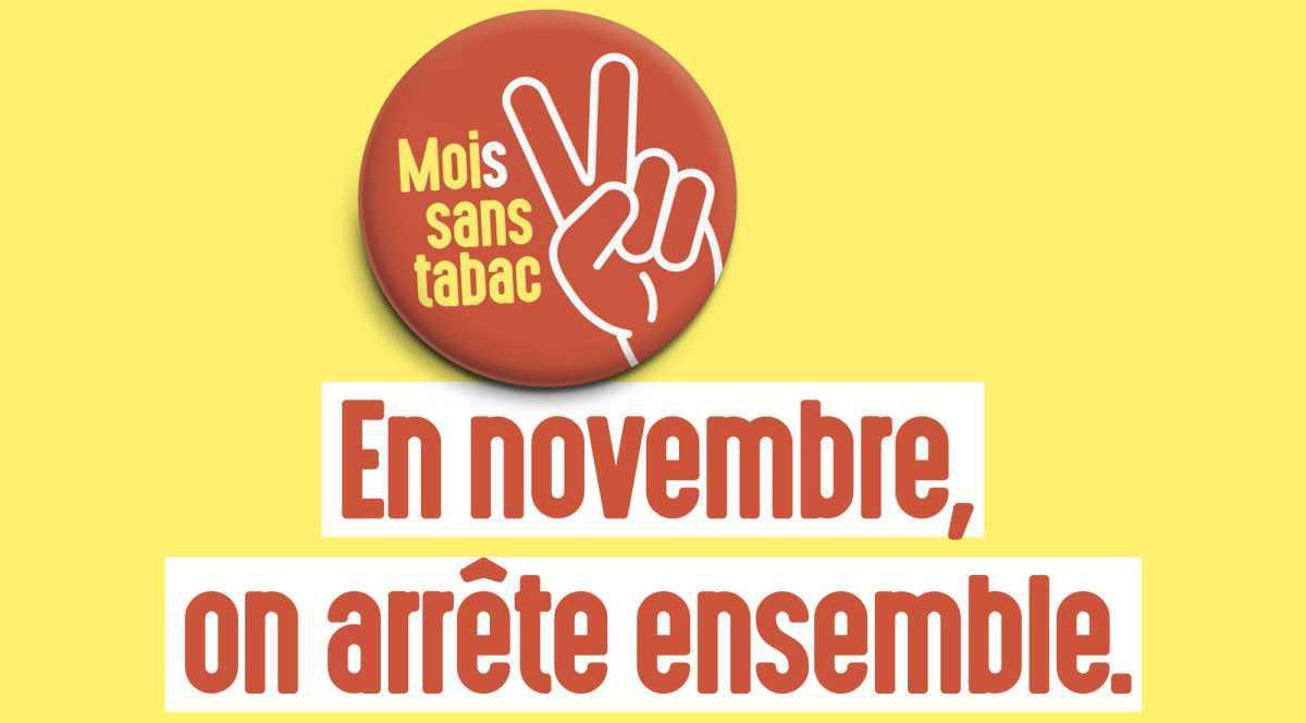 Novembre : un mois sans tabac !