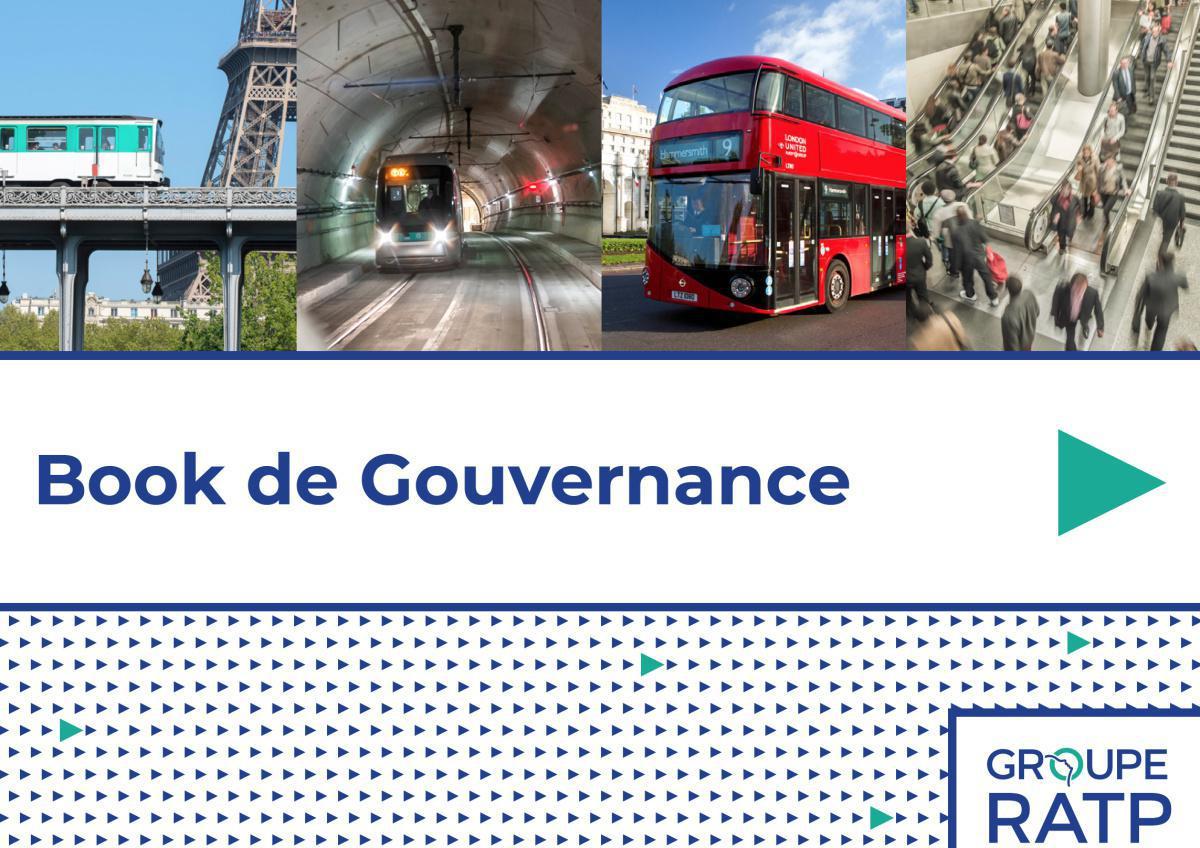 Le Groupe RATP se dote d'un book de gouvernance
