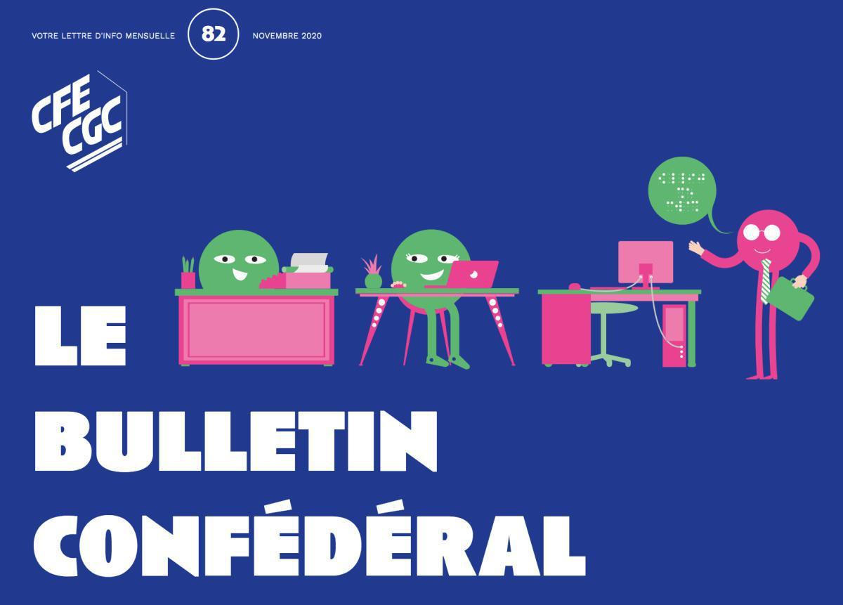 Le Bulletin confédéral n°82 novembre 2020