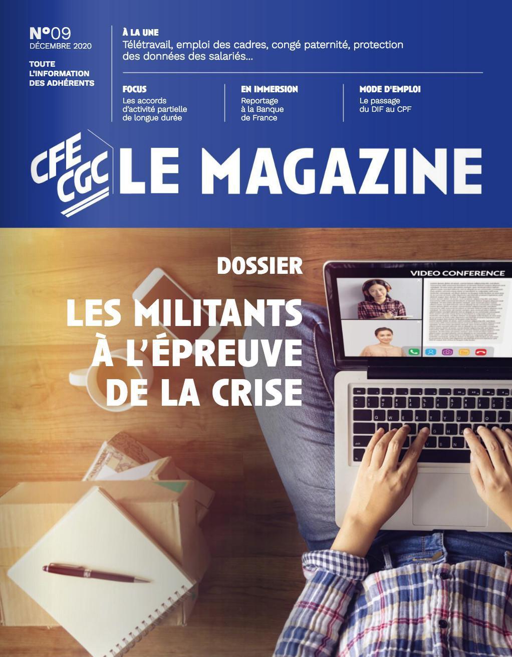 Le magazine n°9 décembre 2020
