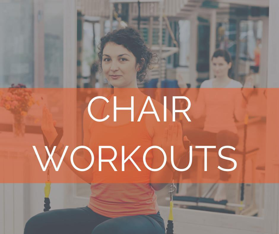 Workout 2 - Seated and Standing