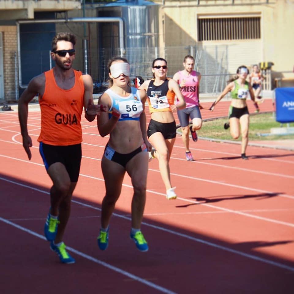 Atletas del CD Atletismo Dromos participan este fin de semana en el Campeonato de España de atletismo adaptado