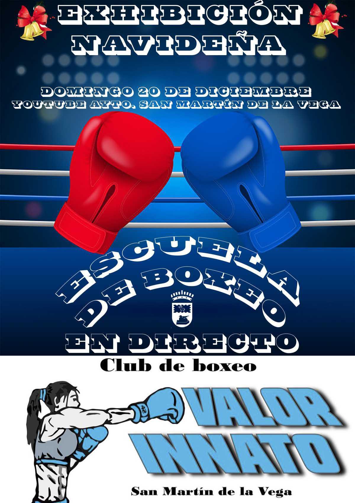 Exhibición de boxeo en streaming el 20 de diciembre