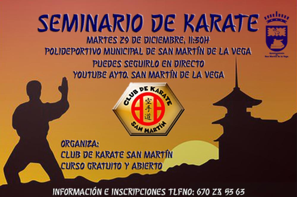 Seminario del Club de Karate San Martín