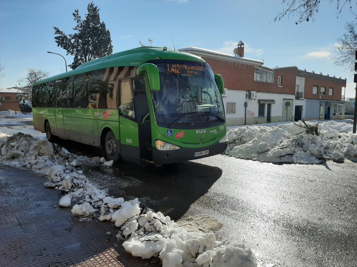 INFORMACIÓN TRANSPORTE PÚBLICO- BUS INTERURBANO