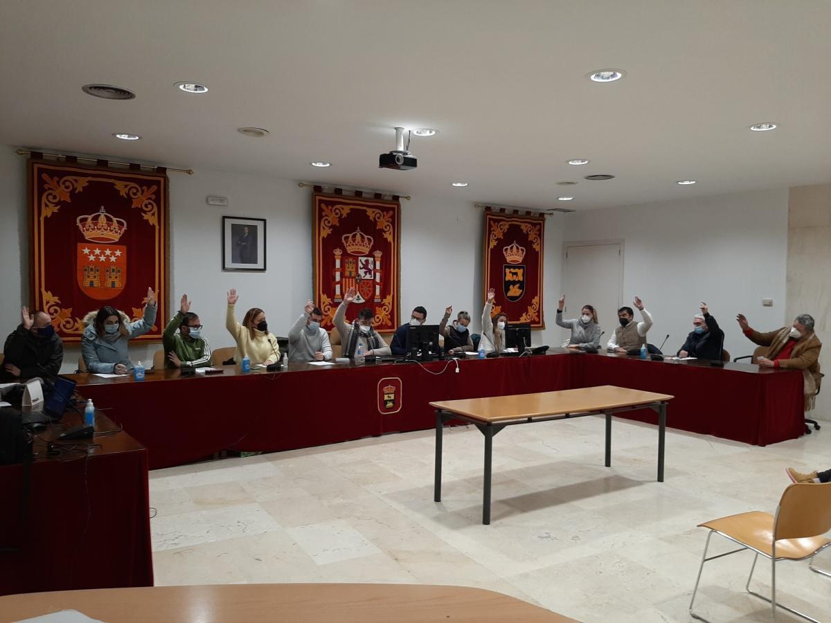 El Pleno pide la declaración de zona catastrófica por unanimidad