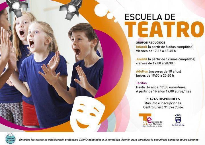 Plazas disponibles grupo juvenil de teatro