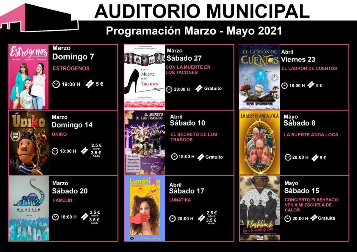 Vuelve la programación +Cultura a San Martín de la Vega