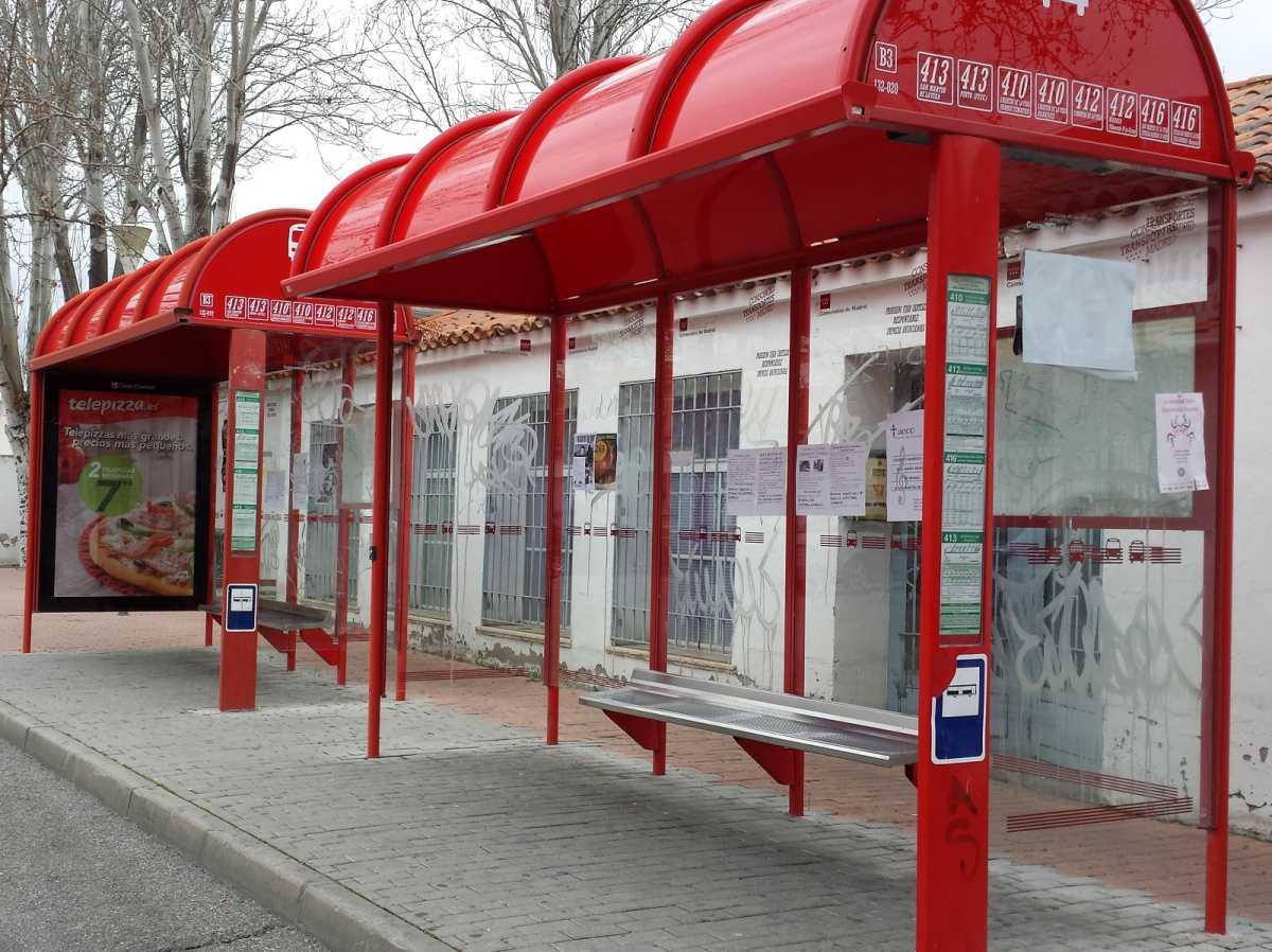 El Ayuntamiento de San Martín de la Vega adjudica las obras de mejora de accesibilidad en las paradas de autobuses
