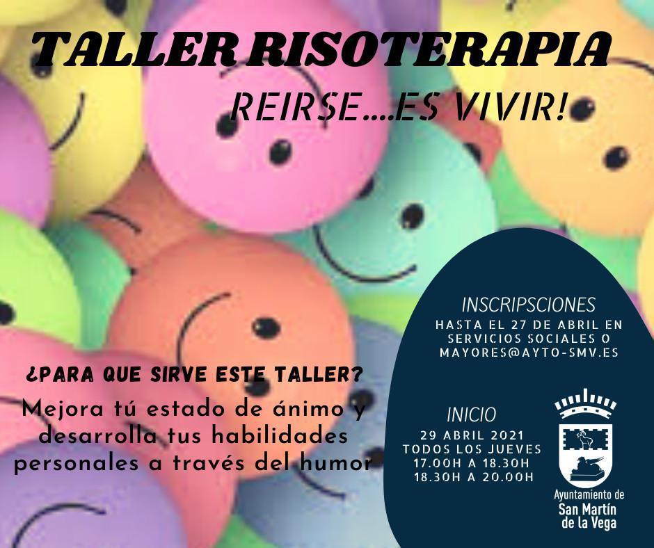 Taller de risoterapia ¡¡Reirse es vivir!!