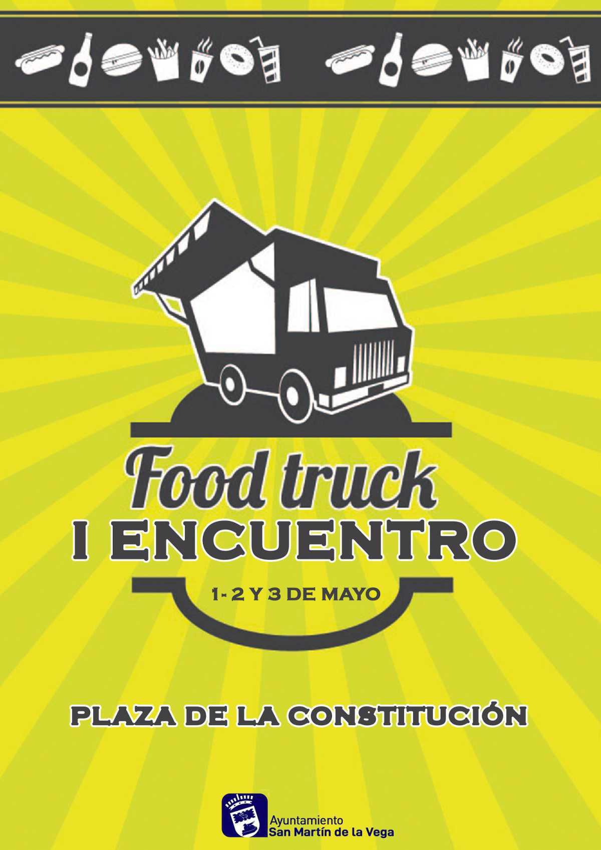 San Martín de la Vega organiza el I encuentro foodtruck
