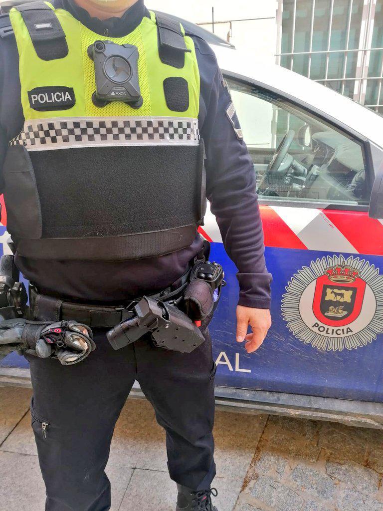 San Martín de la Vega dota de una cámara corporal a los agentes de Policía Local