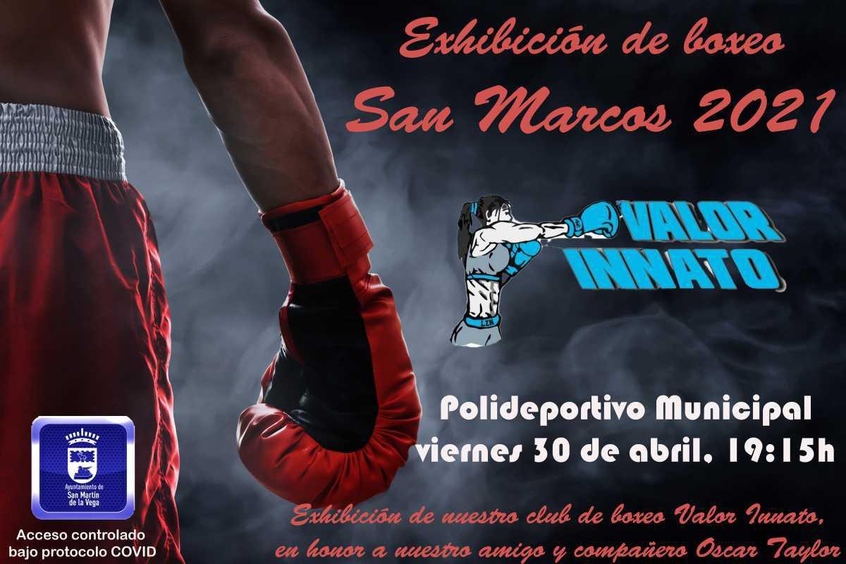 "Exhibición de boxeo ""San Marcos 2021"""