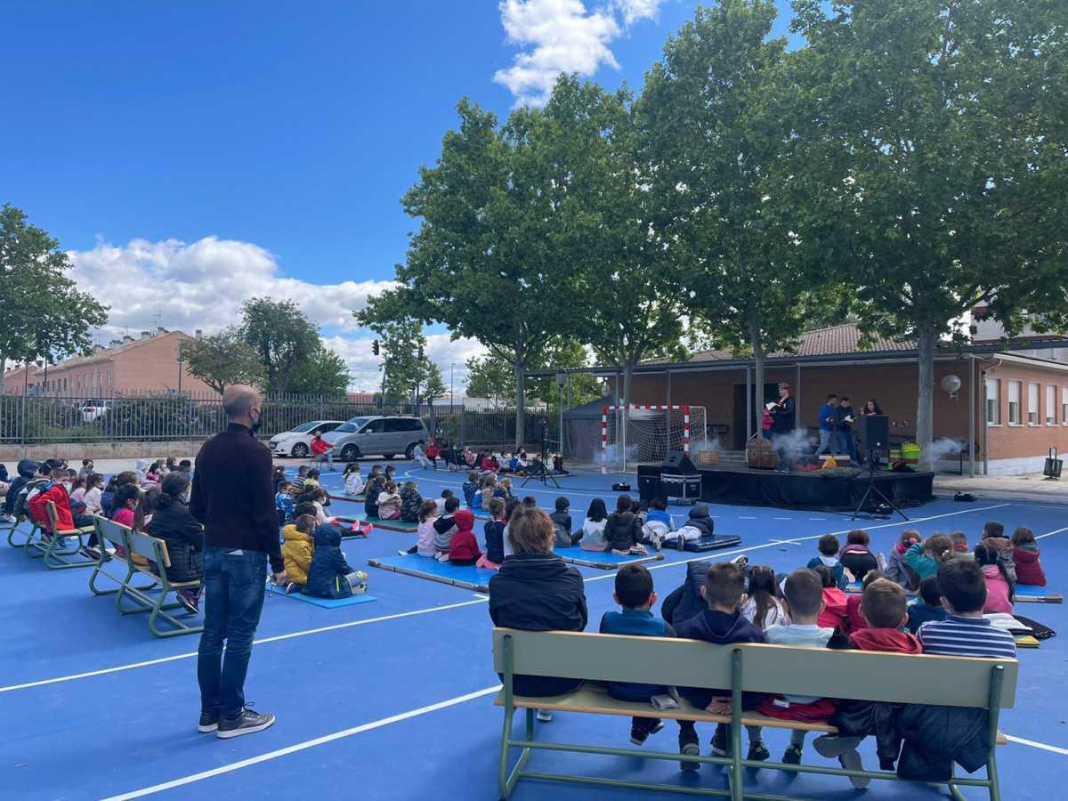 Concluye la campaña escolar itinerante de teatro 2021